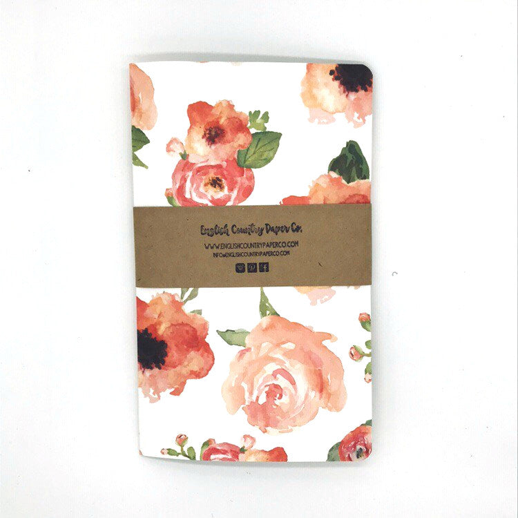 (Wholesale) English Rose Notebook - English Country Paper Co.