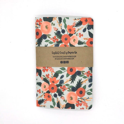 Flores Notebook - English Country Paper Co.