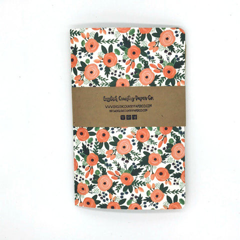 (Wholesale) Garden Corsage Journal - Lined Pages - English Country Paper Co.