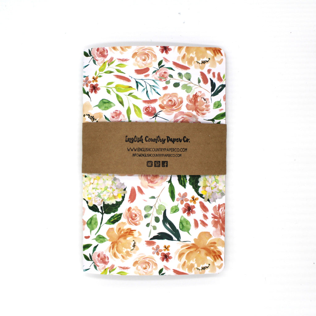 Hydrangea Notebook - English Country Paper Co.