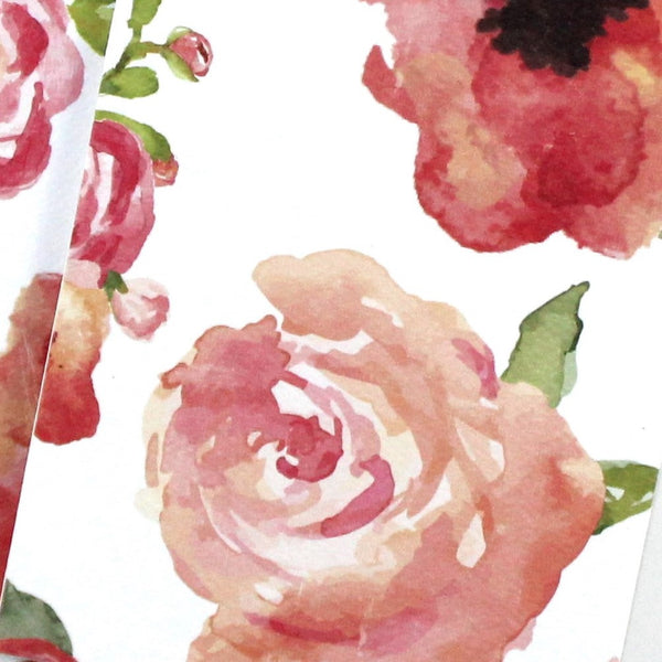 English Rose Notebook - English Country Paper Co.