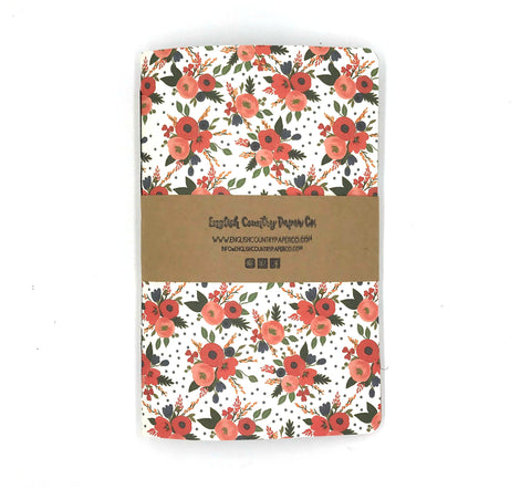 (Wholesale) Holiday 2018 Notebook - English Country Paper Co.
