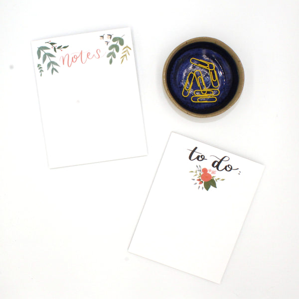 Floral Notepad - English Country Paper Co.