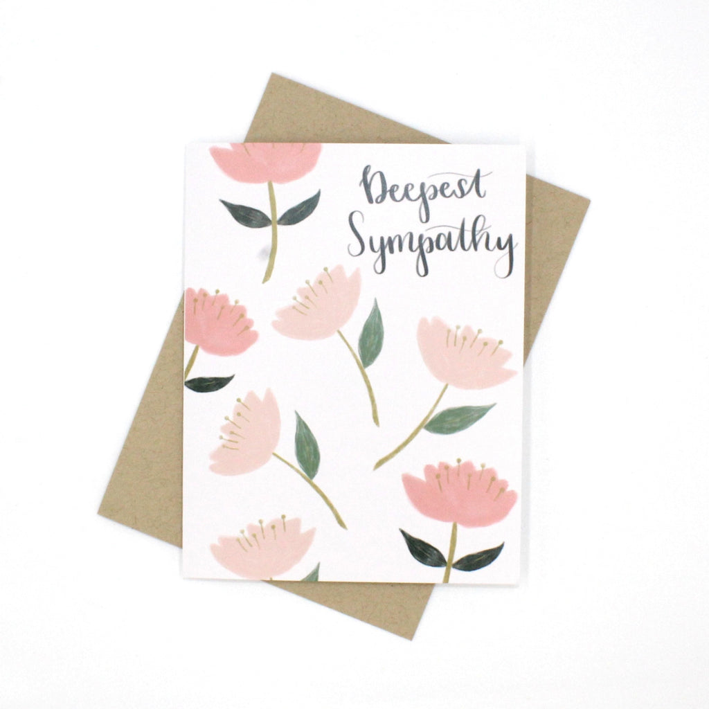 (Wholesale) Deepest Sympathy Card - English Country Paper Co.