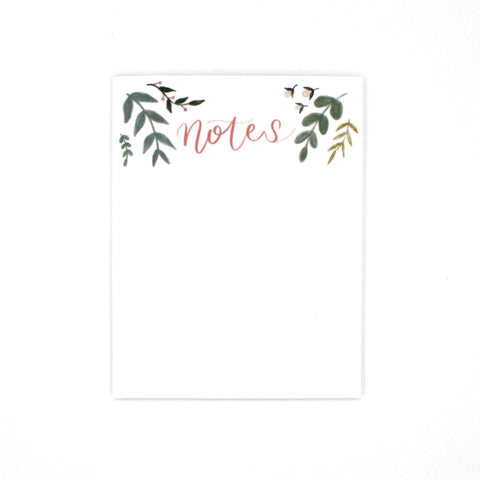 (Wholesale) Floral Notepad - English Country Paper Co.