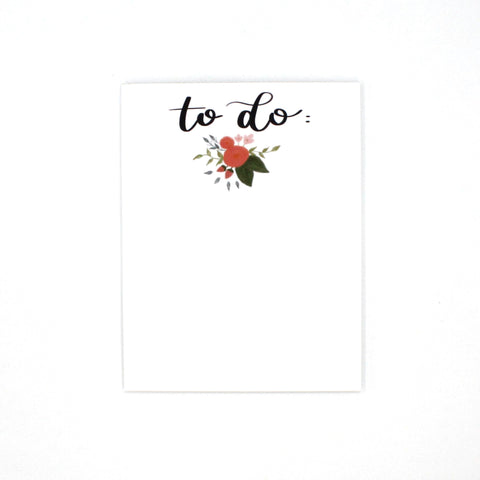 (Wholesale) To Do Notepad - English Country Paper Co.