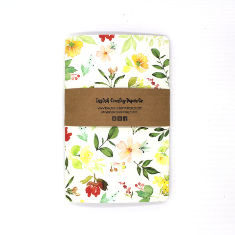 Wildflower Notebook - English Country Paper Co.