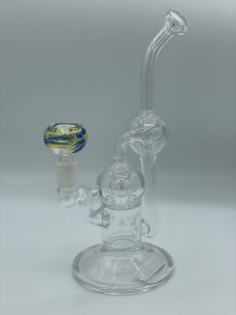 Glass Water Pipe with Percolator