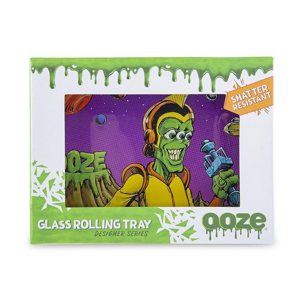 Ooze Glass Rolling Tray - Designer Series