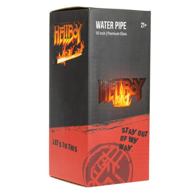 Hellboy 10 inch Premium Water Pipe