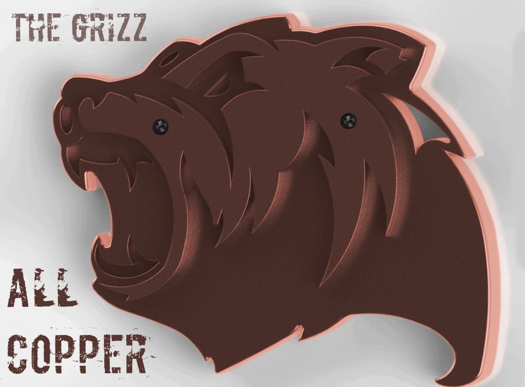 The Grizz Bottle Opener