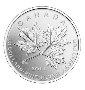 2011 $10 Maple Leaf Forever