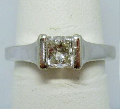 4.24G 14K Gold .70CT Diamond SI1 F Polar Ice Diamond NWT3-109603 GIA 1106492491