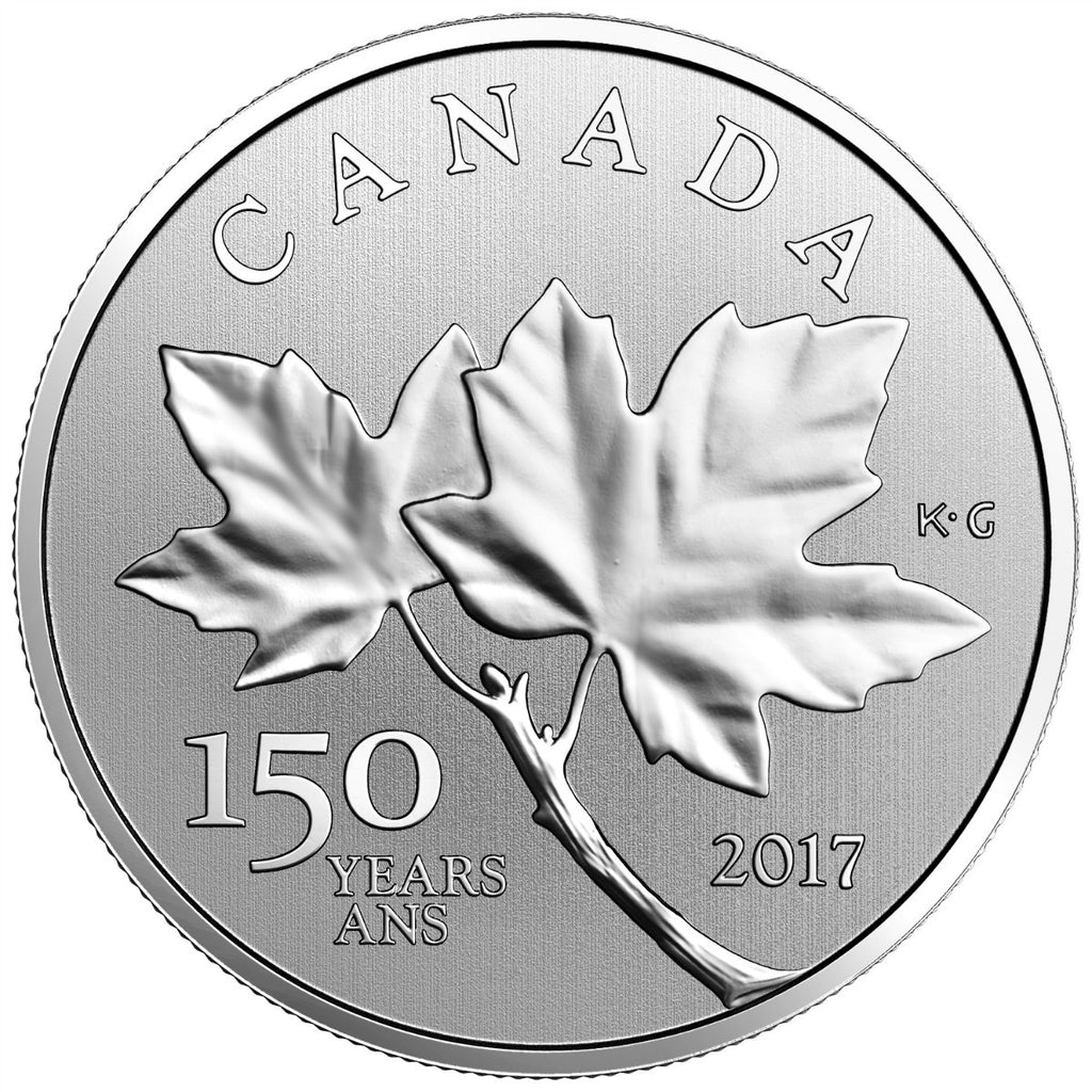 2017 $10 Maple Leaves