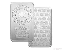 Royal Canadian Mint 10 Ounce Silver Bars