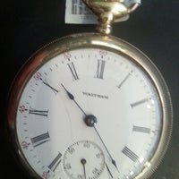 Men's Gold-Filled Pocket Watch