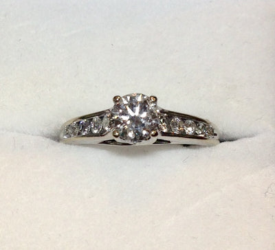 0.75ct 14K Diamond Ring