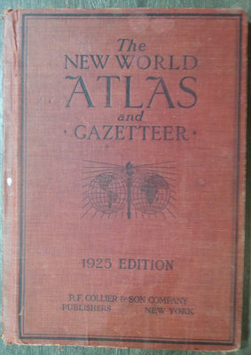 New World Atlas and Gazetteer, 1925 Edition.
