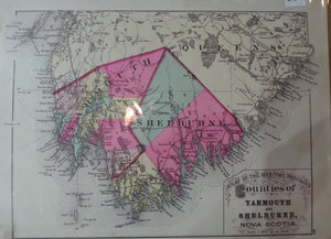Counties of Yarmouth and Shelburne, N.S.