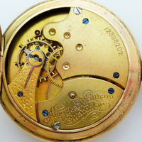 Waltham pocket watch 25 year Gold filled case
