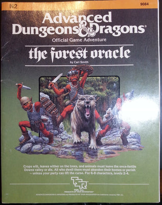 Advanced Dungeons and Dragons: The Forest Oracle.