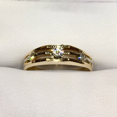 2.7g 14k Yellow Gold Ring