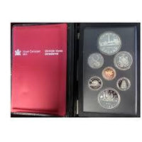 1984 Double Dollar Proof Set