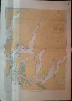 Nautical Chart / Map: Clayoquot Sound, Southeast Portion, British Columbia, 1979
