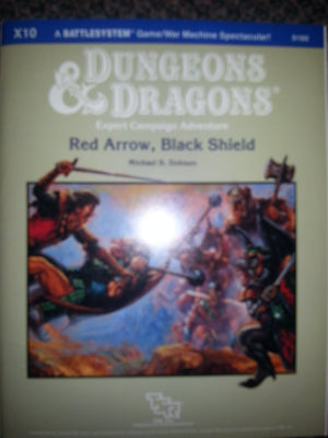Dungeons and Dragons: Red Arrow, Black Shield.