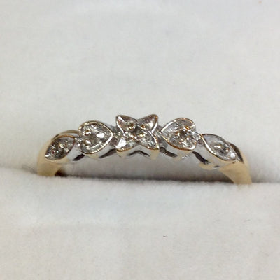 1.9g 10k Antique Wedding Band