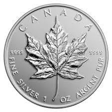 Silver Maple Leaf RCM