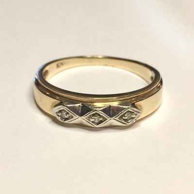 4.2g 10k Men's Yellow Gold Band