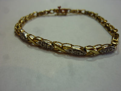 6.9g 10K Yellow Gold Bracelet