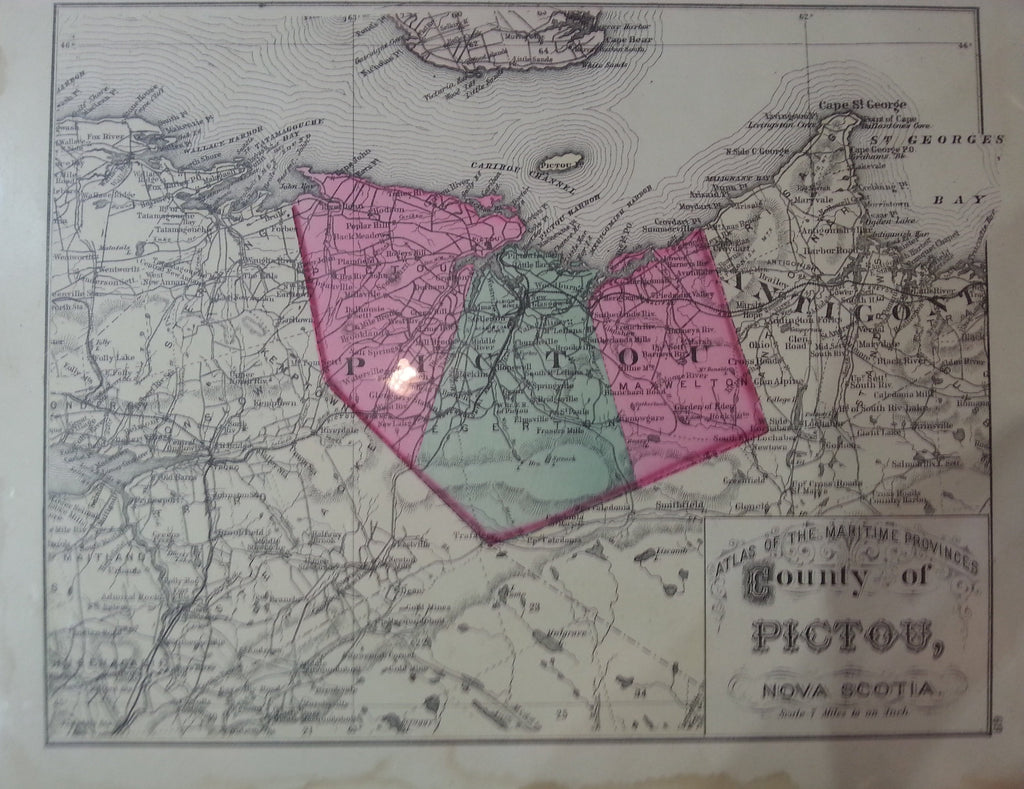 County of Pictou, N.S. 1878