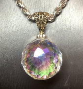 Kate King Angel Aura Mystic Quartz Pendant