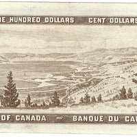 1954 $100 Note Bank of Canada