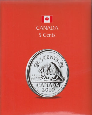 5 CENTS KASKADE CANADIAN COIN ALBUMS