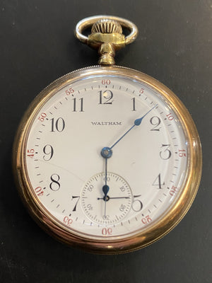 1912 15 Jewel Waltham Pocket Watch 18300090