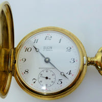 Elgin Pocket Watch  Unitas Movement 6498  1970-80