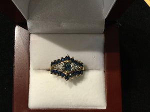 Ladies Antique Gold Ring