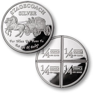 STAGECOACH 1 Ounce Silver Rounds