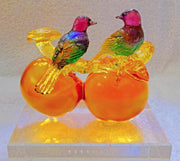 TITTOT CRYSTAL PERSIMMON, LINGZHI, FLYCATCHER - BRAND NEW IN ORIGINAL BOX