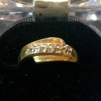 2.4g 14k Yellow Gold Ring
