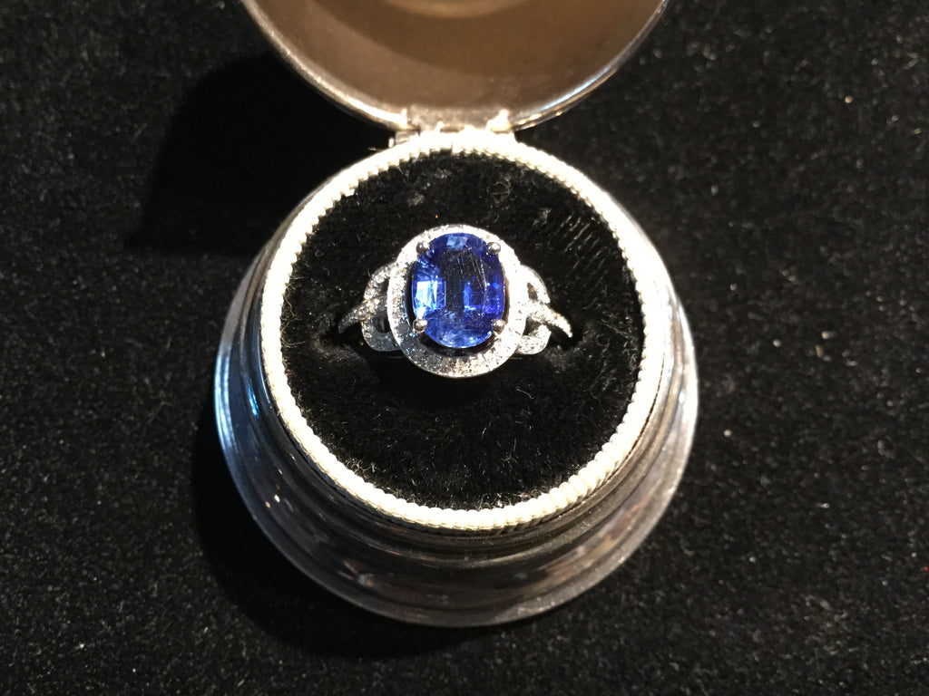 Ladies Sapphire Engagement/Dinner Ring
