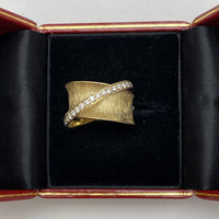 14K Yellow Gold Statment Ring