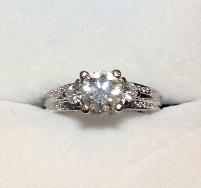 0.95ct18K Diamond Ring