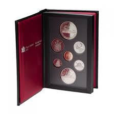 1986 Double Dollar Proof Set