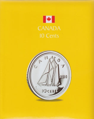 10 CENTS KASKADE CANADIAN COIN ALBUMS