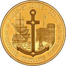 1983 St. Johns Gold 1/2 Troy Ounce