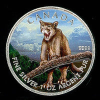 2012 $5 1 oz Full Color Canadian